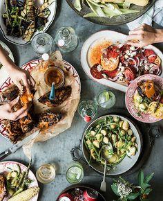 Food Family Style Wedding