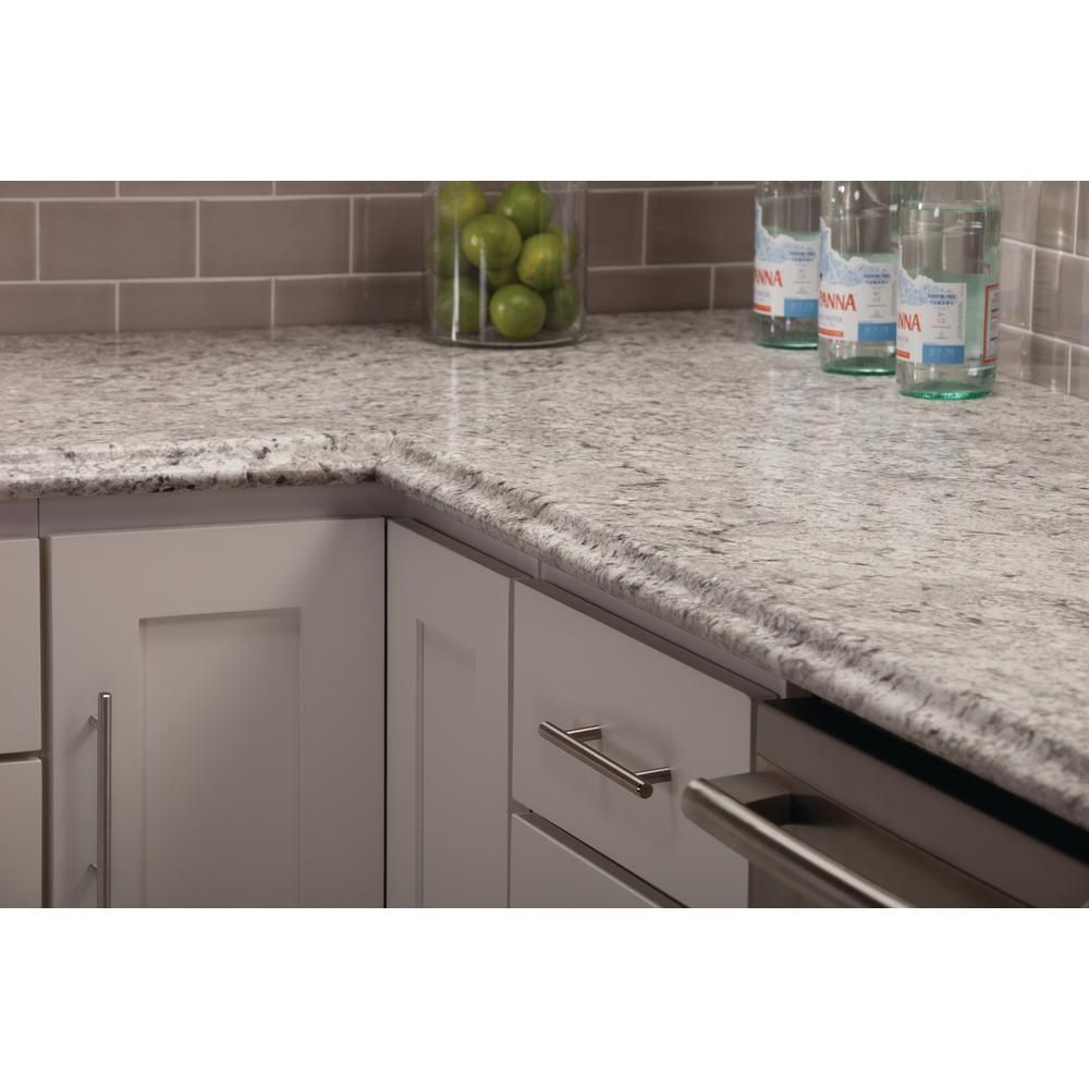 Hampton Bay Valencia 72 In Single Roll Laminate Countertop In Spring Carnival Kitchen Remodel Countertops Laminate Countertops Kitchen Countertops