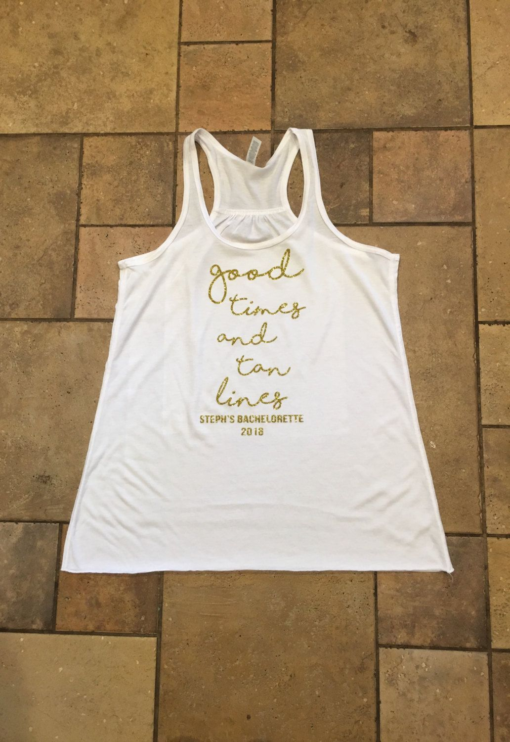Bachelorette Party tank tops - Bach weekend shirts - Girls night shirts - bachelorette  party favors - bachelorette weekend gifts - good time by ... 607450a63ee1