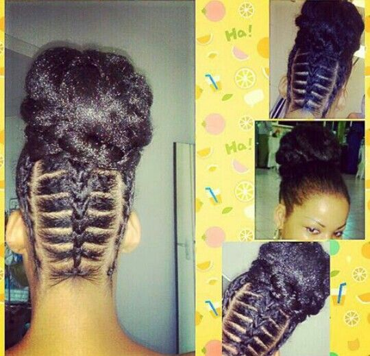 Elastic Cornrows With Images Natural Hair Styles