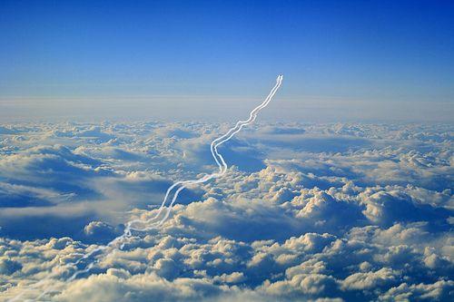 Thresholdnotekmlboeing 747 Contrail Via Ditb picture