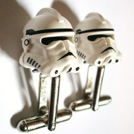 stormtrooper cufflinks #starwars