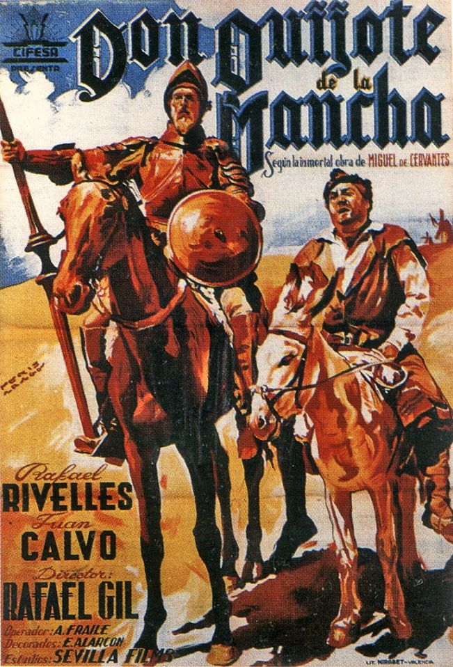 Don Quixote Poster////Don Quixote Movie Poster////Movie Poster////Poster Reprint