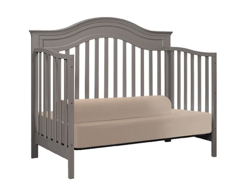 Fitted Bed Sheet With Built In Guards For Standard TODDLER BED Crib Mattress