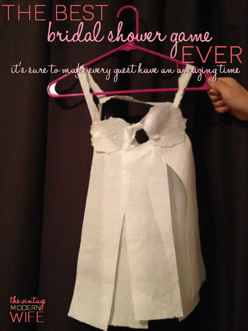 The Best Bridal Shower Game Ever Toilet Paper Lingerie Wedding