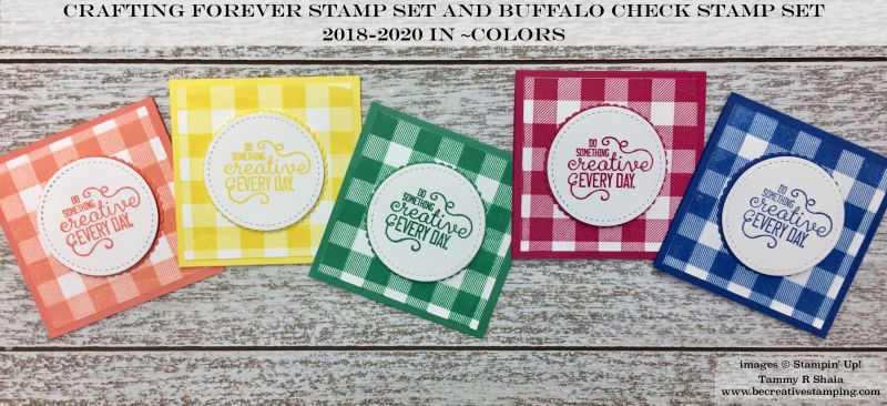 20182020 In Color MondayCrafting Forever Stamp Set and