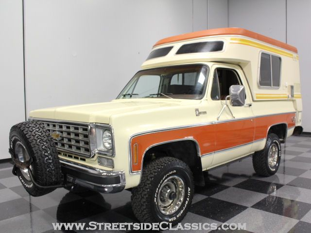 1976 Chevy Blazer Chalet With Chinook Mobilodge Chevrolet
