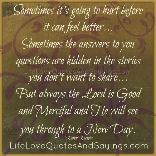 Questioning Faith Quotes: Hdden Hurt Quotes And Images