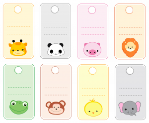 name cards monsters theme free printable cards and planners