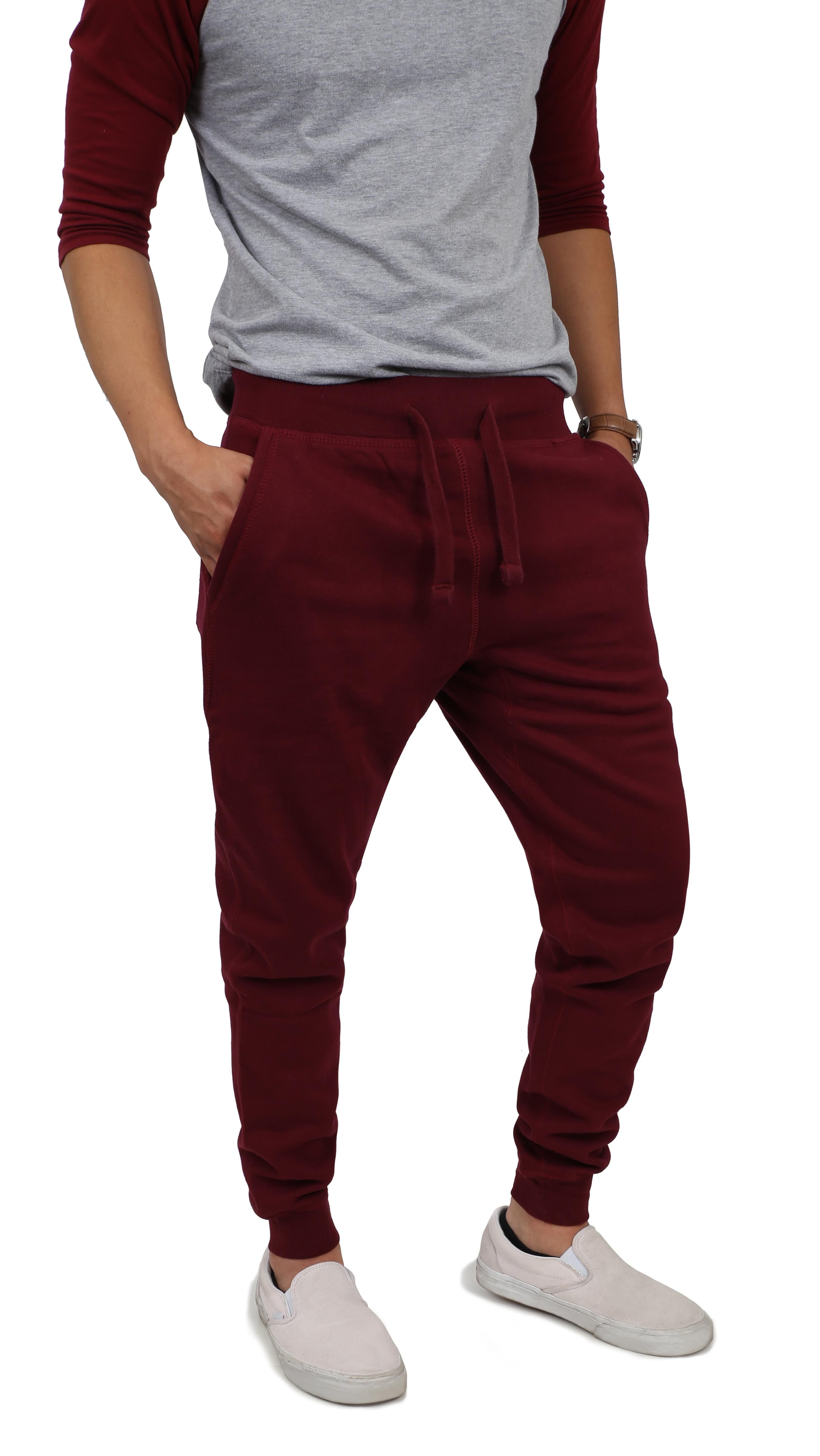 620caa6f8a Mens Basic Fleece Jogger Pants en 2019