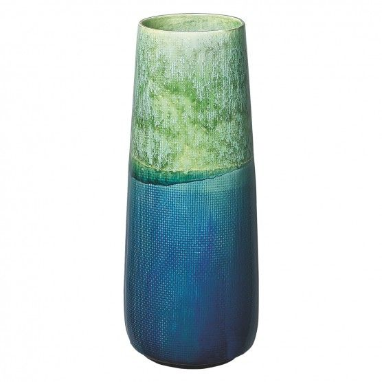 Robyn Blue And Green Ceramic Vase Ceramic Vase And Decorating
