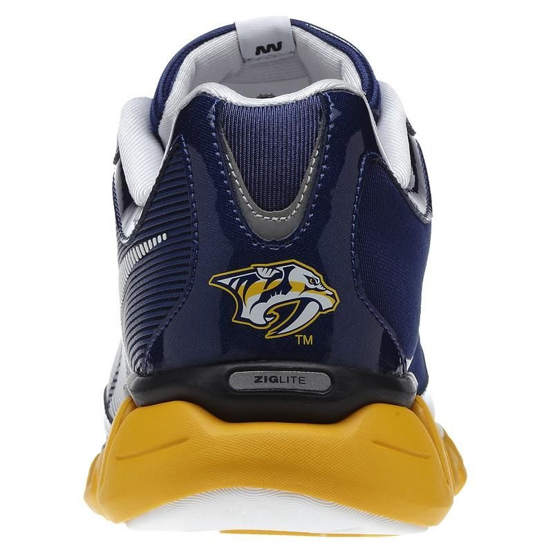 Nashville Predators Reebok ZigLite Men s Running Shoes ( 130 ... 0343554ea