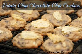 One Creative Housewife: Potato Chip Chocolate Chip Cookies