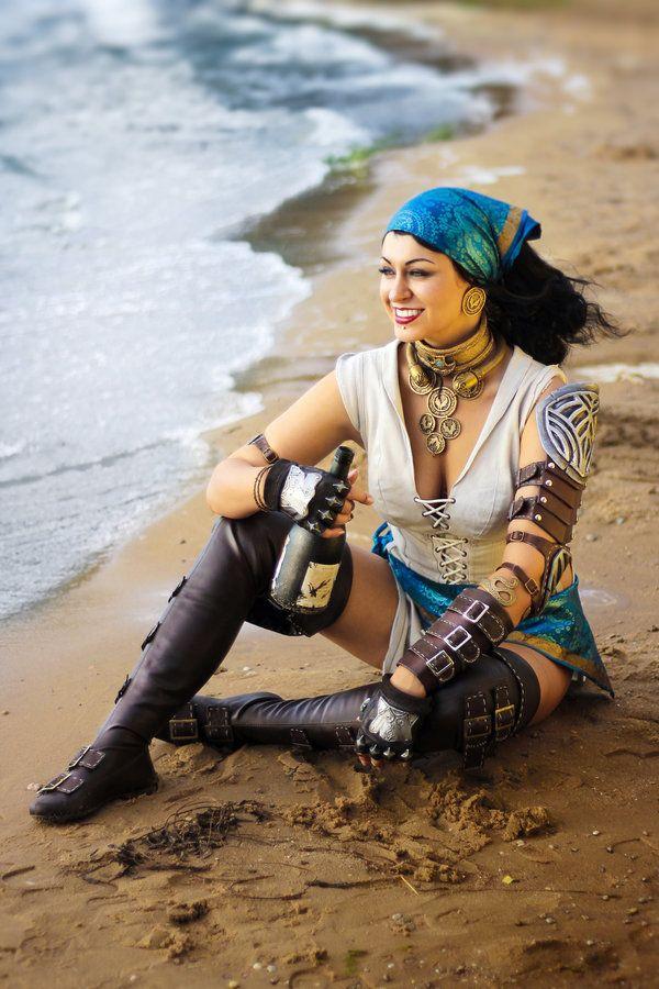 Dragon Age Isabela Cosplay By Alexial Kun Deviantart Com On