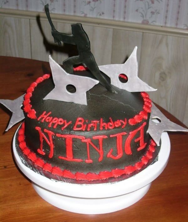 ninja birthday cakes | Party Ideas in 2019 | Ninja birthday