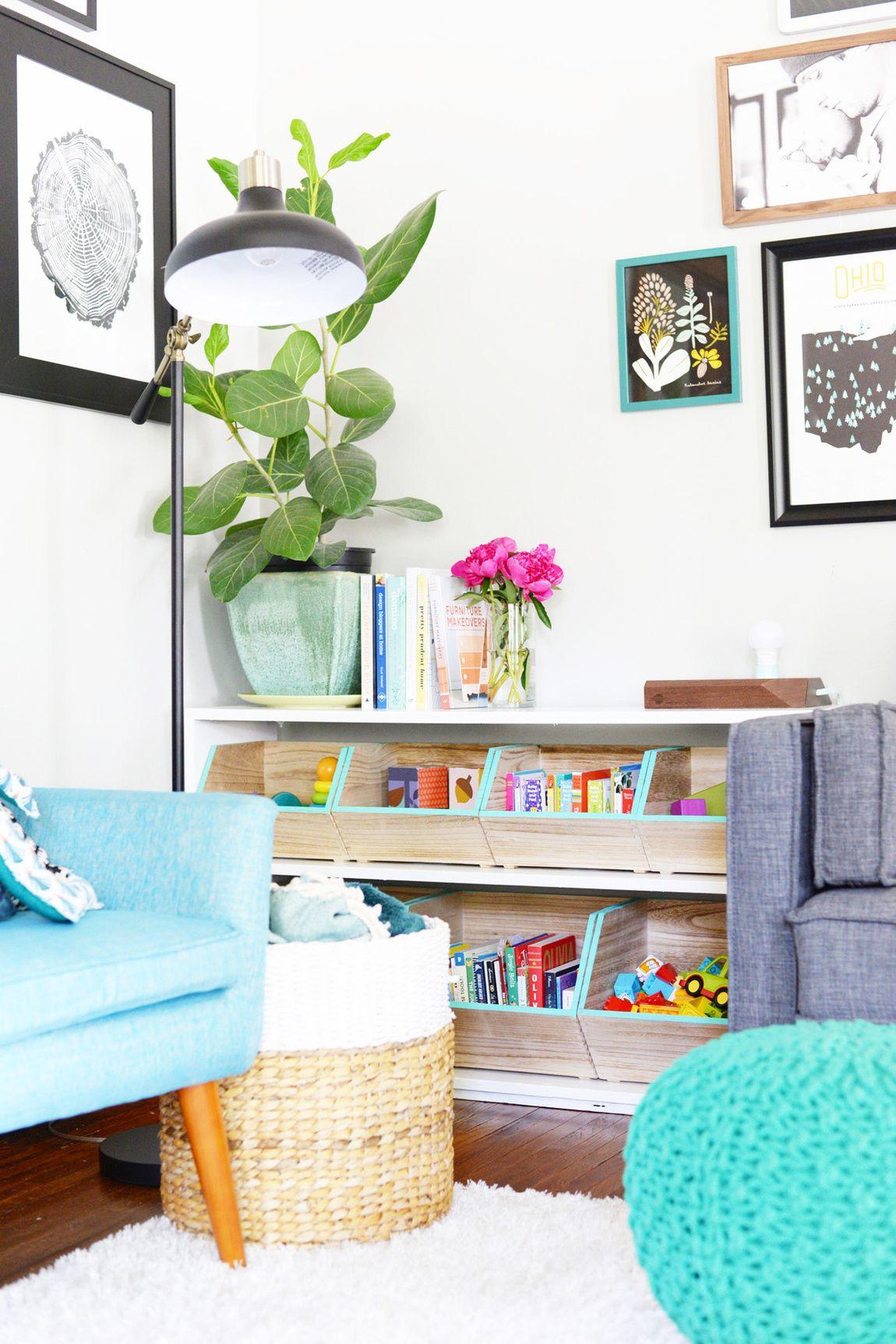 Diy Hacked Toy Storage Painted Trim Kids Rooms Pinterest