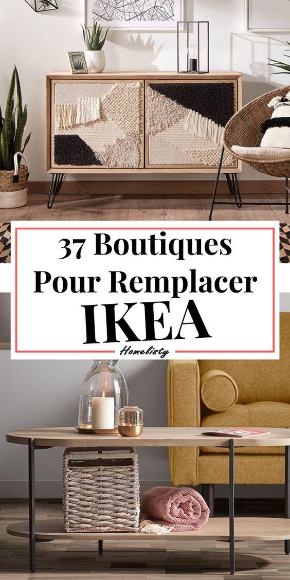 37 Alternatives & Concurrents à IKEA (Déco & Mobilier)