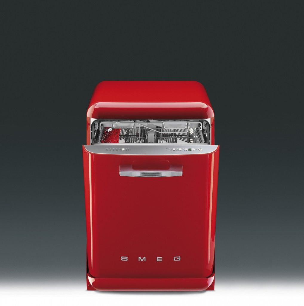 This red dishwasher = no washing up after your