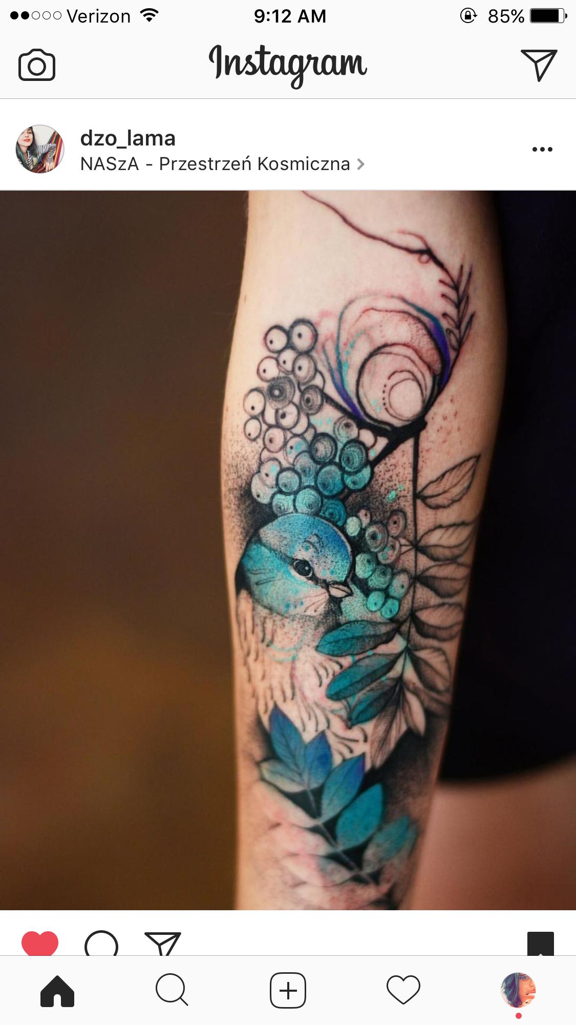 Body Art by Nicole Goodwin Bird tattoo sleeves, Half