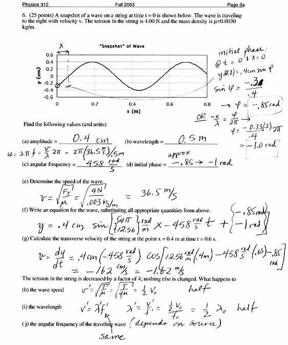 Doppler Effect Worksheets Mon 8 Feb 2010 In Class Refraction