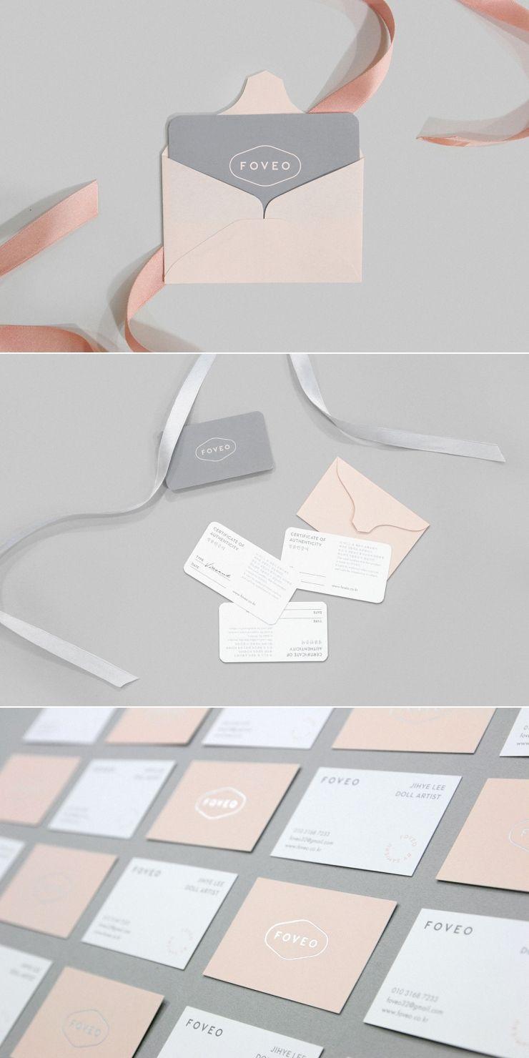 Feminine Business Card Design Inspiration | FOVEO Branding ...
