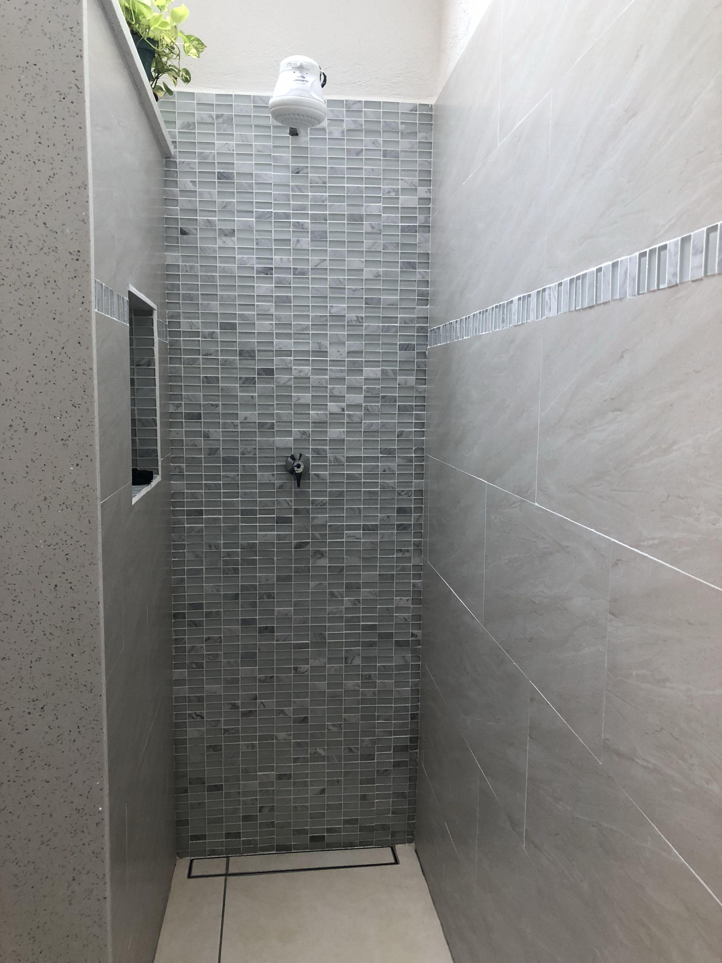 Calentadores Para Cuartos De Bano.Calentador De Agua Porcellanato Mosaico Para Ducha