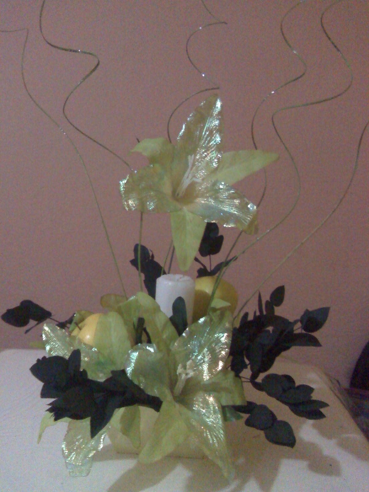 Como Hacer un Centro de Mesa con Flores Artificiales Celebrar