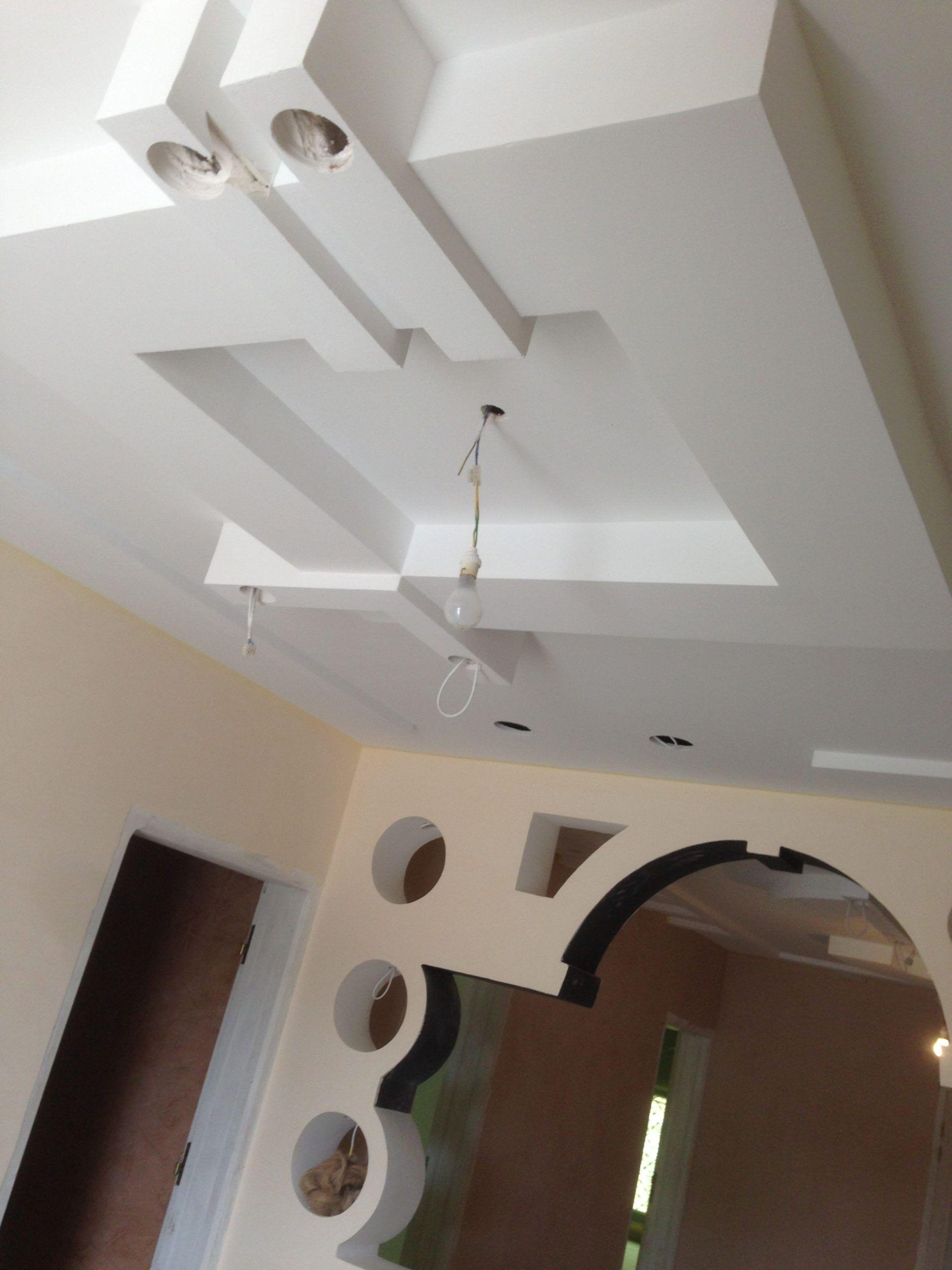 Decoration Salon Ba13 2021 in 2020   False ceiling design ...