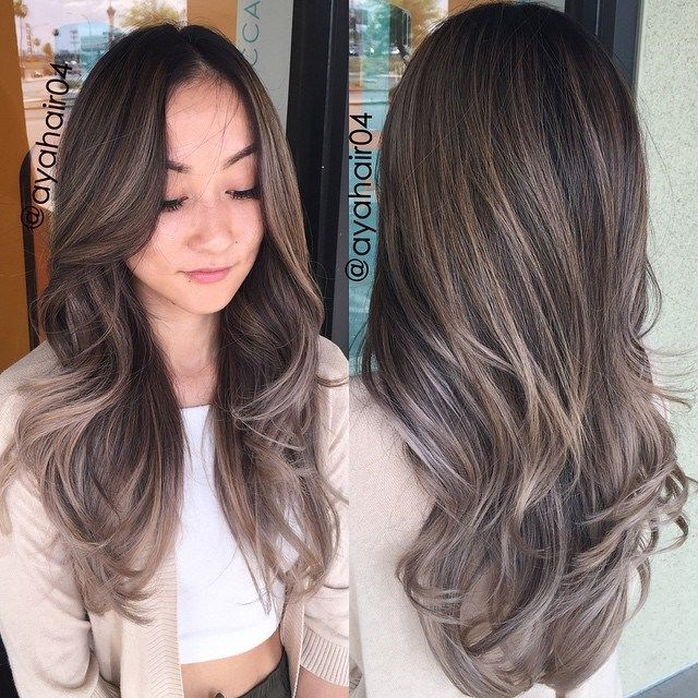 Ash Brown Hair Color With Highlights Hair Cut Color Styling