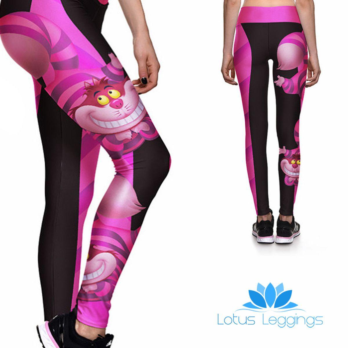 55badb9a9ba0d CHESHIRE CAT ATHLETIC LEGGINGS – Lotus Leggings | :My Style ...