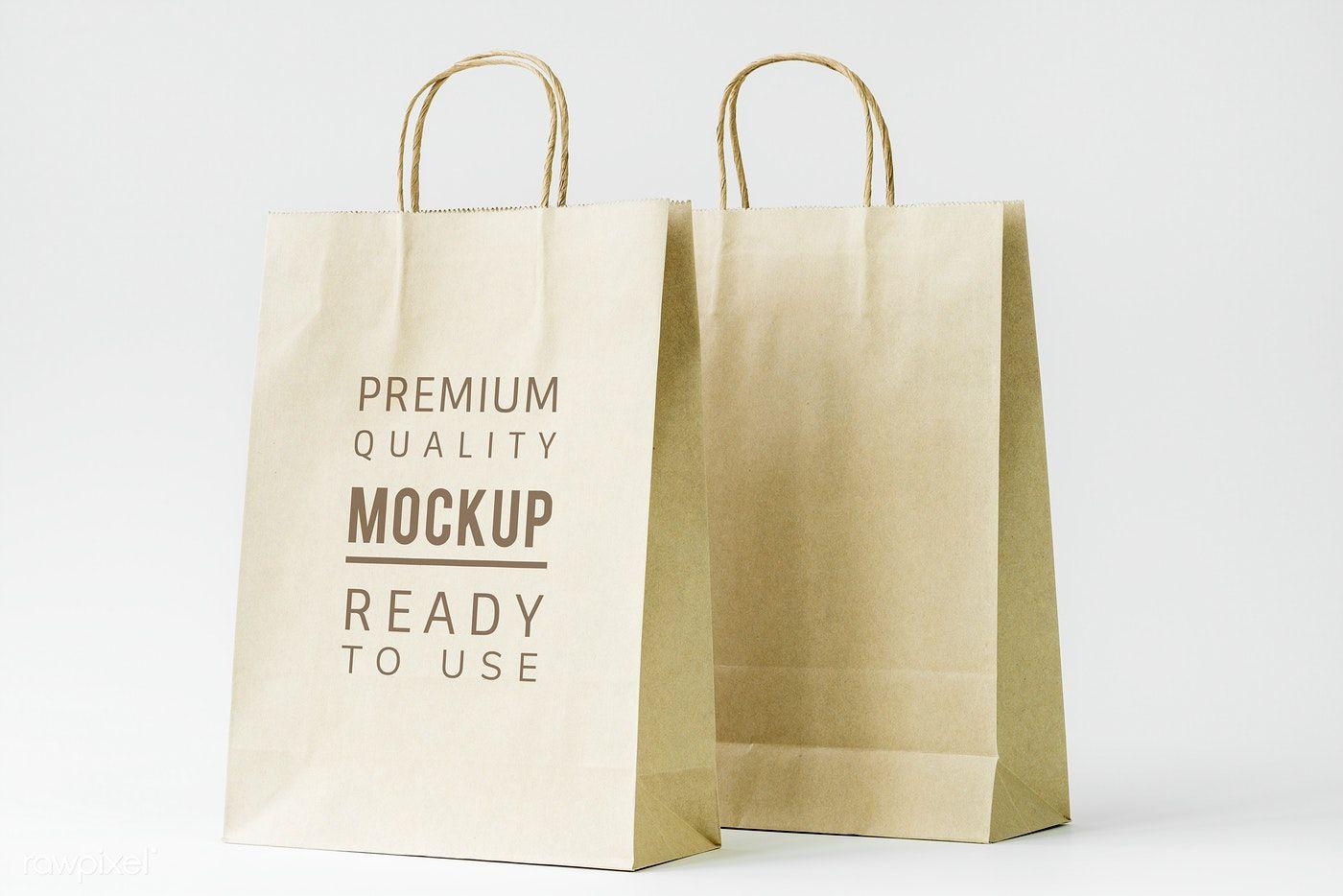 Download Download Premium Psd Of Paper Bag Mockup 296335