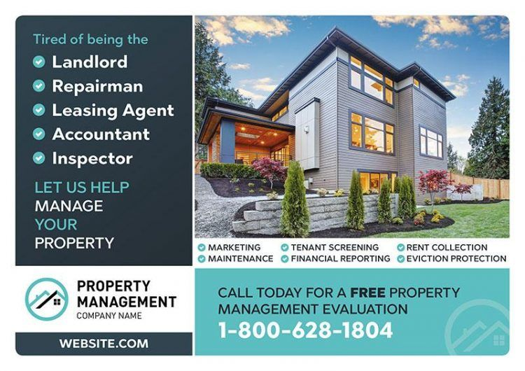 Property Management Marketing Postcards By Postcardmania Com Property Management Marketing Property Management Rental Property Management