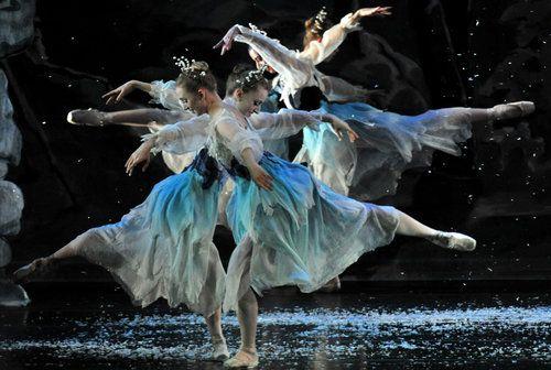 Snowflake Fairies...Atlanta Ballet's Nutcracker