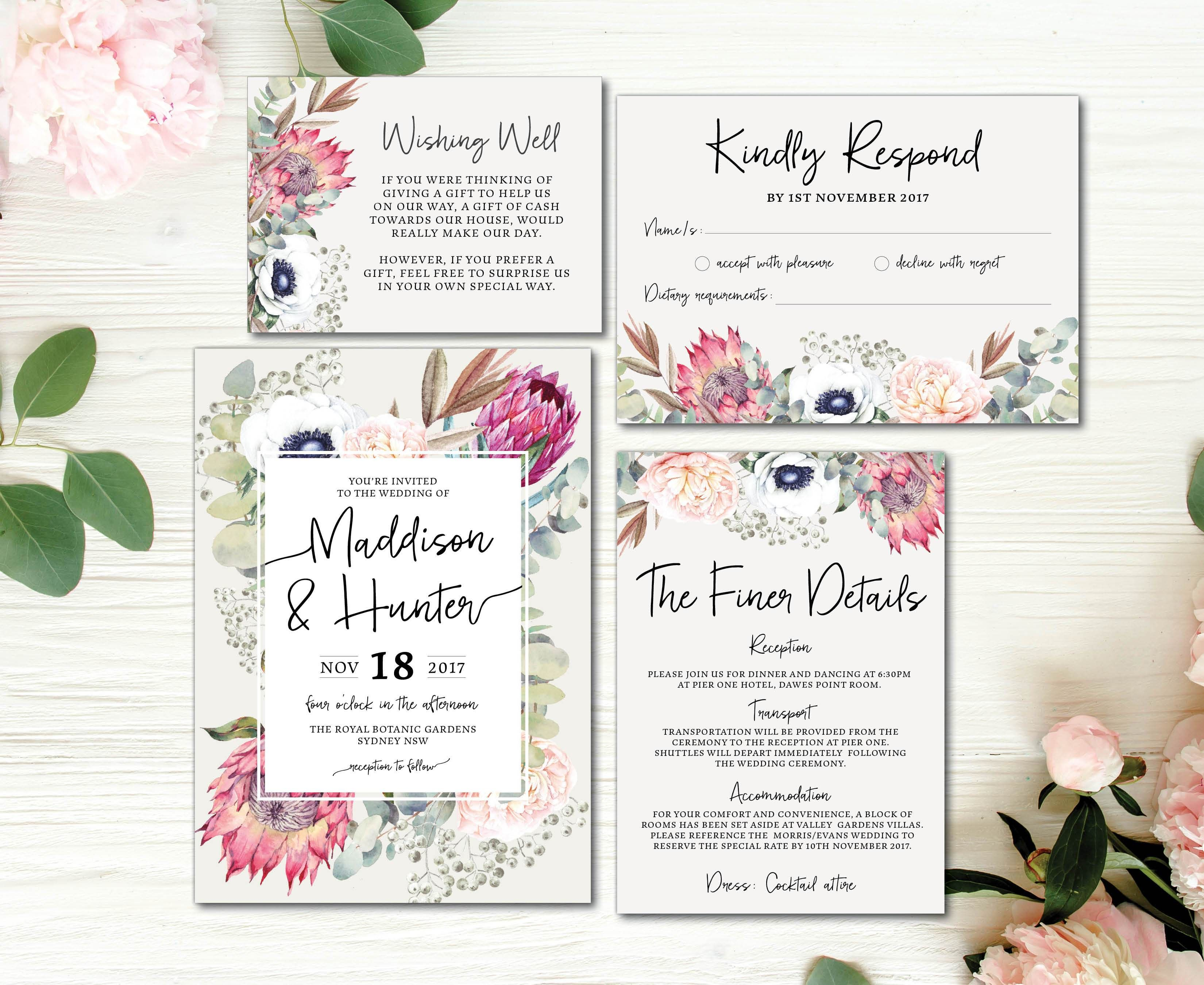 Bear Wedding Invitations - Menshealtharts