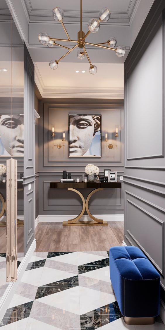 You can create your dream hallway with us. #hallway #entryway #luxuryfurniture #furniture #interior #interiordesign #luxuryinterior #luxuryinteriordesign #homedecor