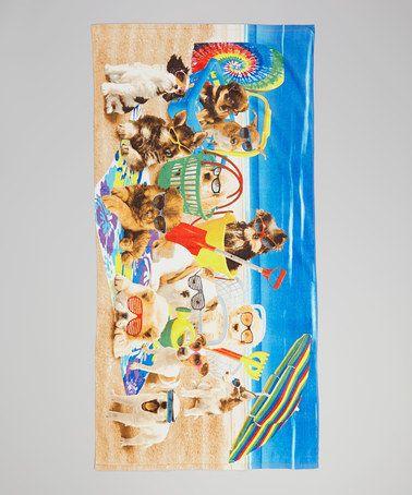 Look at this #zulilyfind! Cool Dogs Beach Towel by Island Gear #zulilyfinds