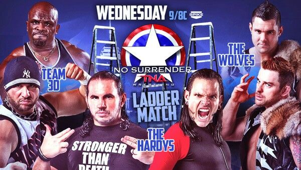 This Wednesday on Spike, the Tag Championship Series will continue with a Ladder Match, The Hardy's specialty. The first team to win two matches on this series will be TNA Tag Team Champions and will gain the title of the greatest tag team ever.