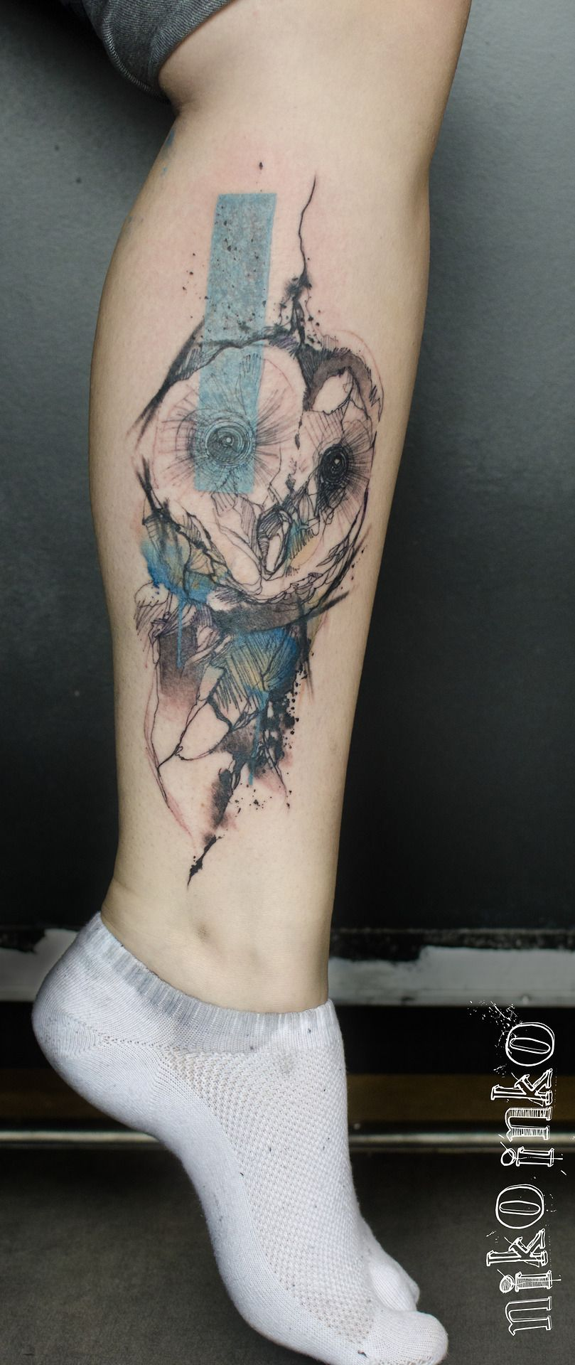 Niko inko dövme pinterest badass tattoo and owl