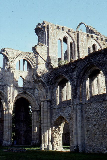 Netley Abbey Ruins, Hampshire, England.