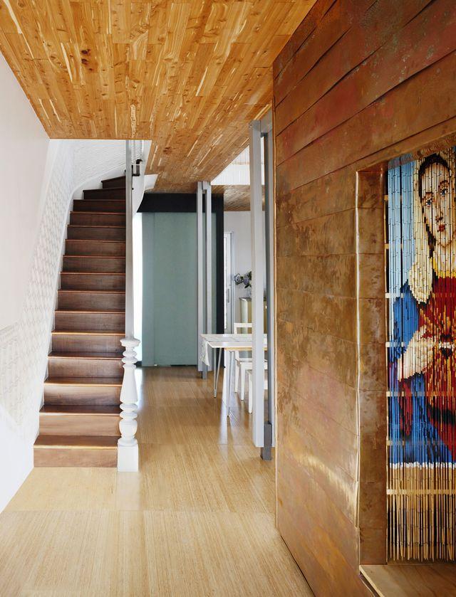 loft brooklyn un 150 m2 esprit r cup chaleureuse c t maison et entr e. Black Bedroom Furniture Sets. Home Design Ideas
