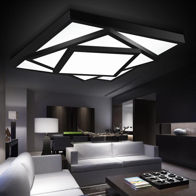 Hot Free Shipping Modern Led Ceiling Lights Lamp For Living Room Bedroom  Lustres De Sala Home Indoor Lighting Dimmable Abajur