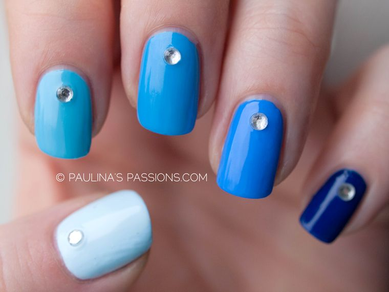 Ombre nails of blue autism awareness nail art challenge ombre nails of blue autism awareness nail art challenge day 3 prinsesfo Choice Image