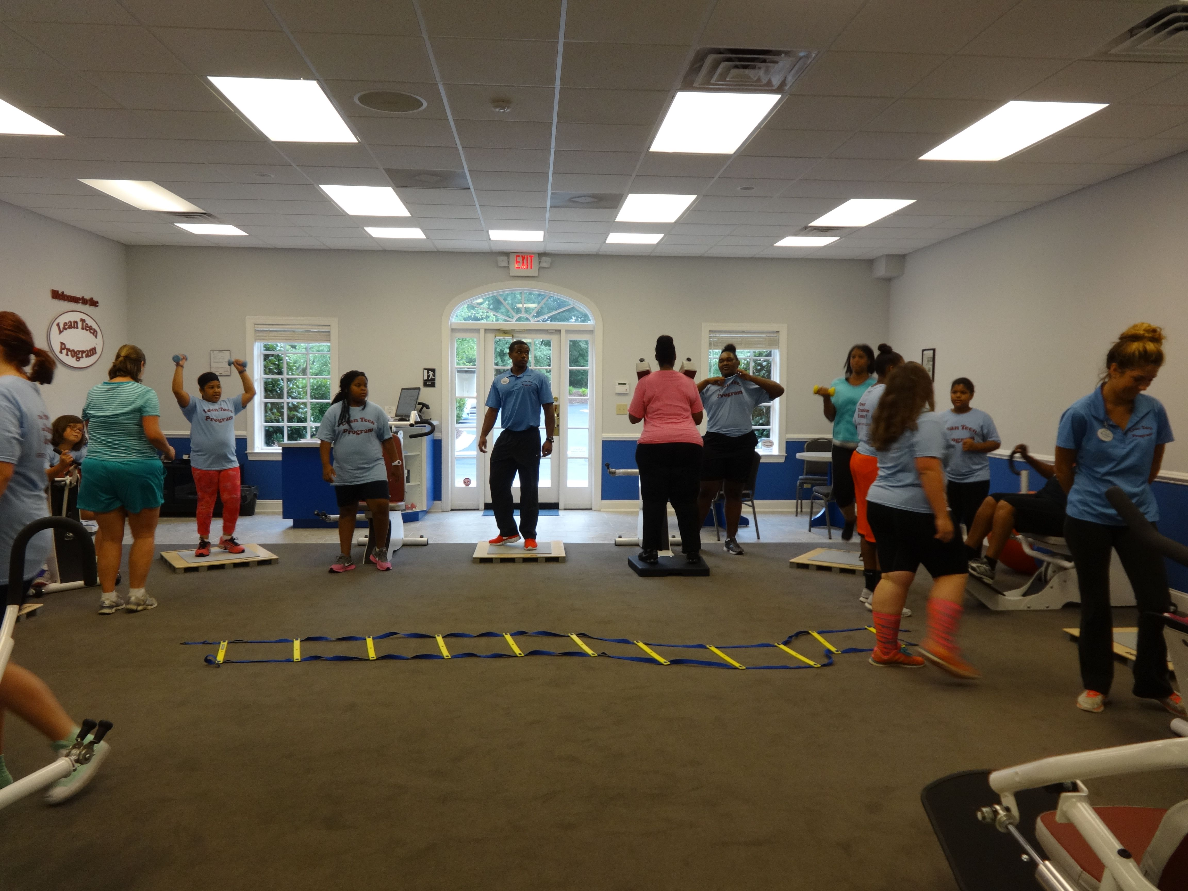 Pin On Parent Teen Exercise Classes