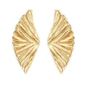 Shop for Tiffany Kunz - Plume Studs in Bronze at Show Pony Boutique. A marvelous…