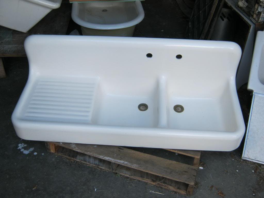 High back porcelain cast iron sink | Farmhouse | Pinterest | Sinks ...