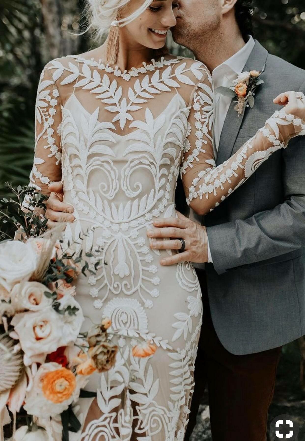 I Love This Dress So Unique Wedding Dresses Lace Wedding