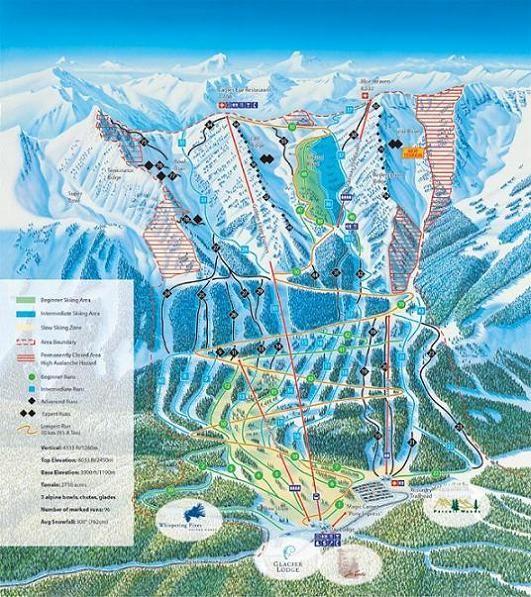 Estación de esquí Kicking Horse: British Columbia - Canadá