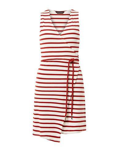 8d1b902a0f Stripe Nautical Wrap Dress