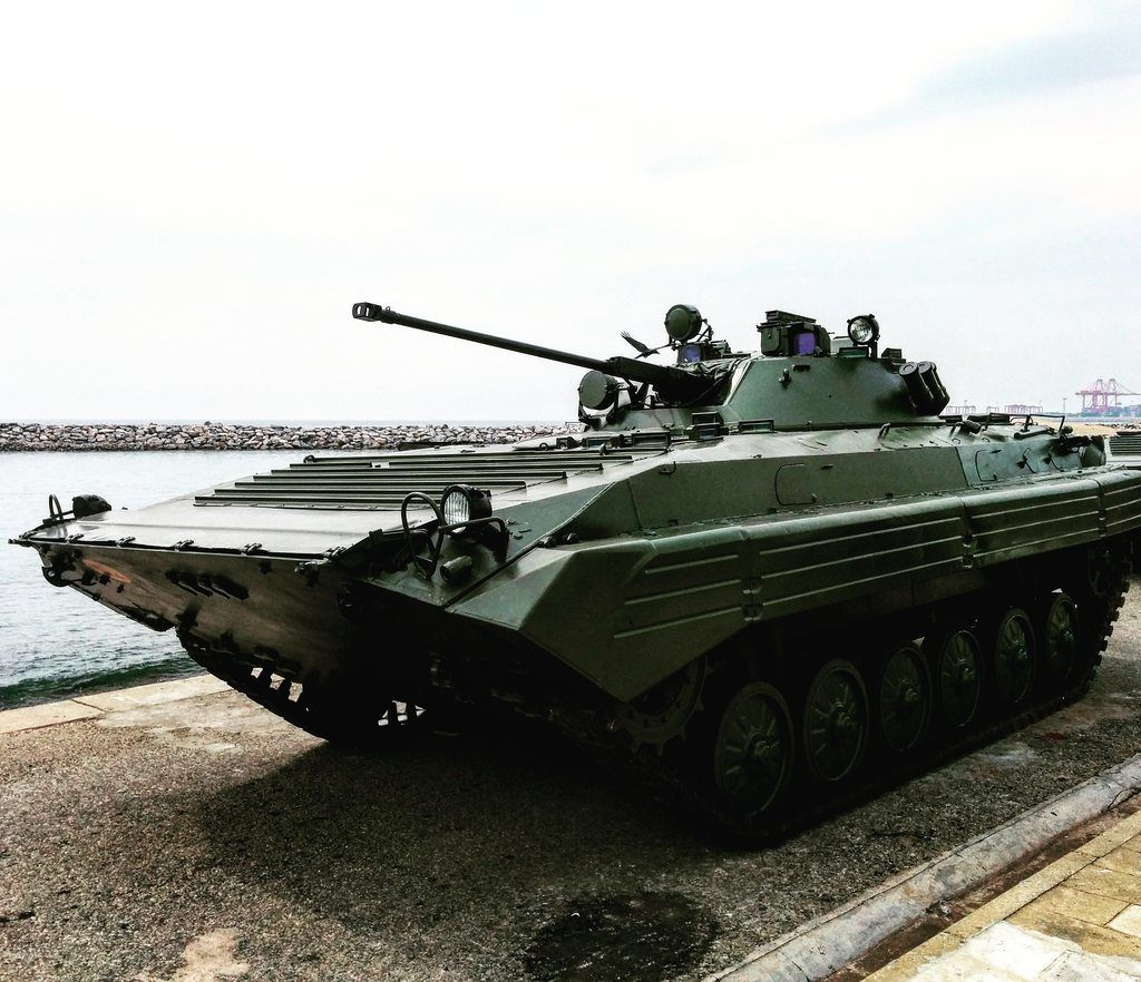 Russian BMP-2 used by the Sri Lankan army (10801080)