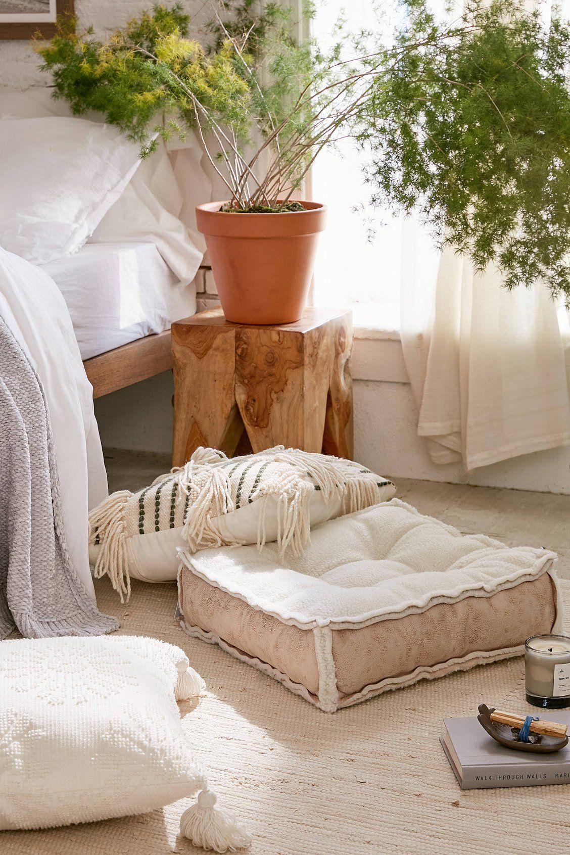 Sherpa Floor Pillow Floor Pillows Soft Flooring Flooring